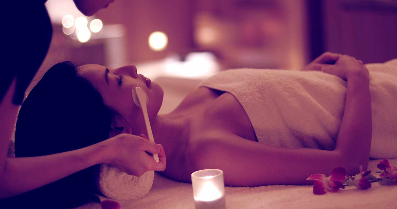 Spa Night with Restorative Yoga and Facial Treatment