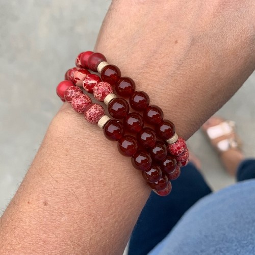 Carnelian Bracelet Spring Collection