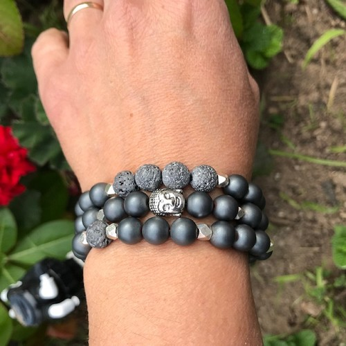 3 Beautiful Onyx Bracelets